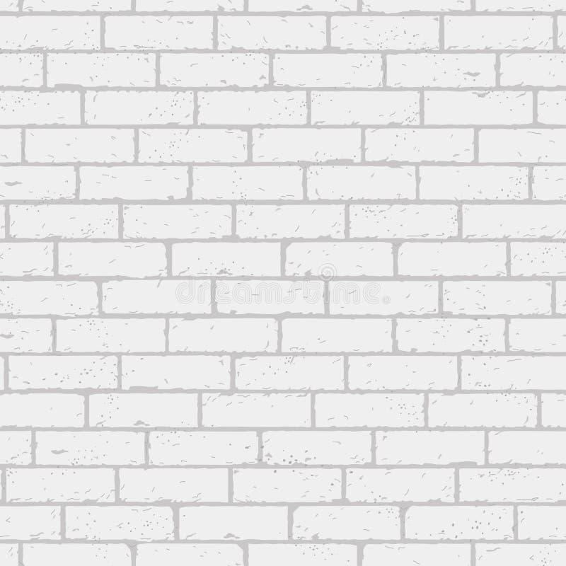 砖墙的传染媒介例证 库存例证