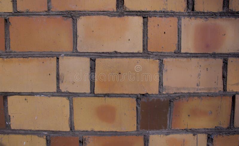 砖墙的背景 库存例证