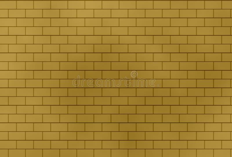 砖墙背景和纹理 库存例证