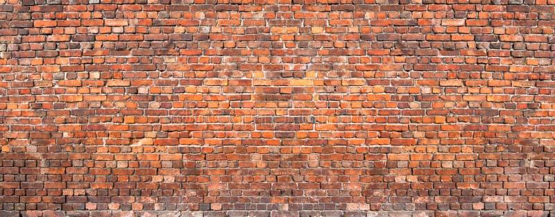 砖墙背景,难看的东西纹理砖砌老房子 免版税库存图片
