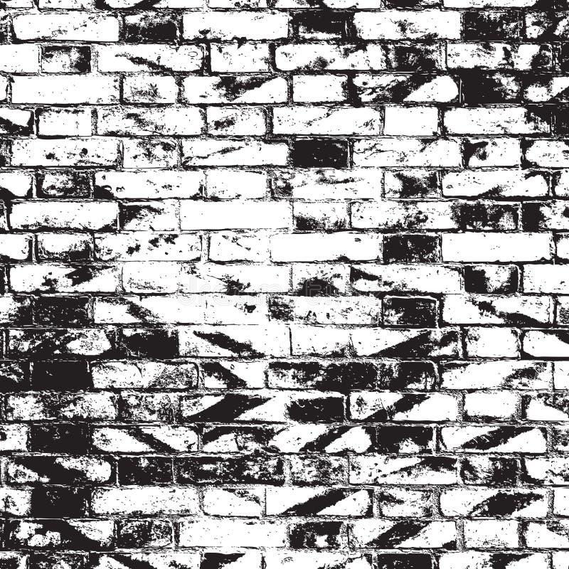 砖墙覆盖物 库存例证