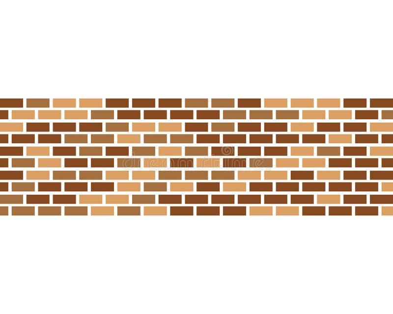 砖墙象传染媒介 皇族释放例证