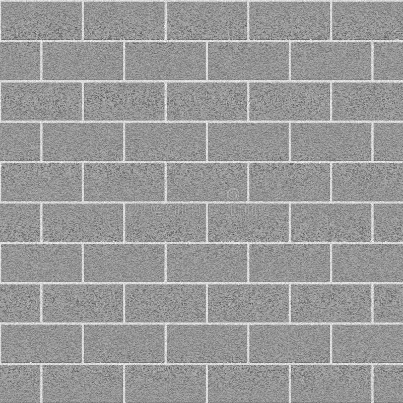 砖墙 皇族释放例证