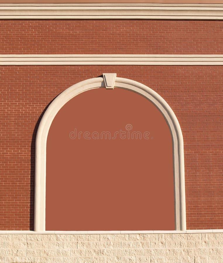 砖复制华丽空间墙壁 库存照片