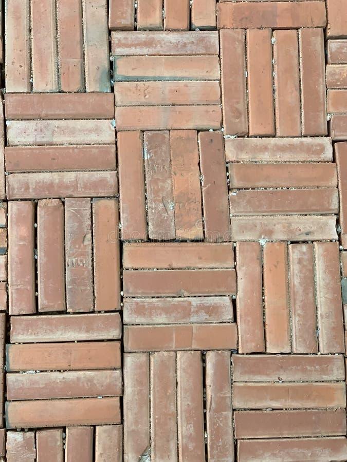 砖方式背景 库存照片