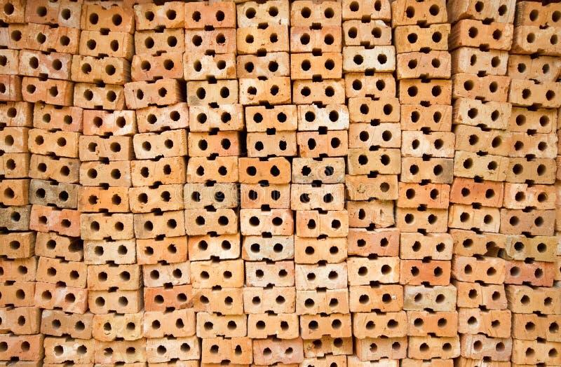 砖模式 免版税库存照片