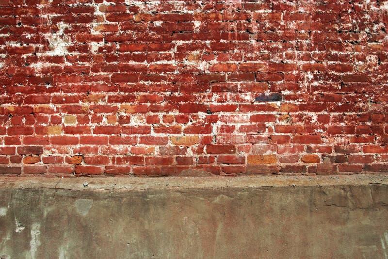 砖混凝土墙 免版税库存照片
