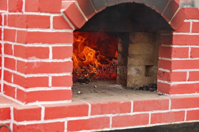 砖烤箱2 库存照片