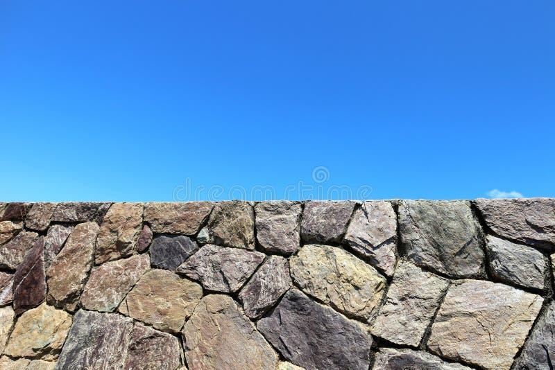 砖石墙葡萄酒老表面背景 免版税库存图片
