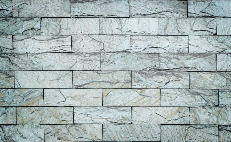 砖石白色 库存图片