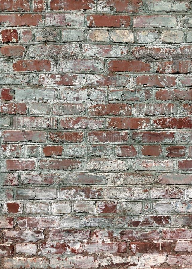 砖破旧的墙壁 免版税库存照片