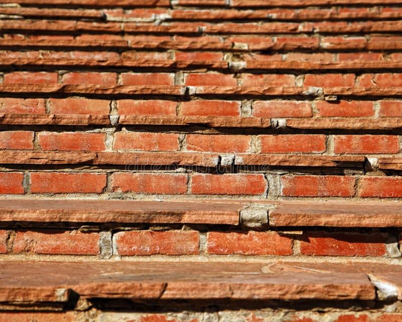 砖老步骤石头 图库摄影