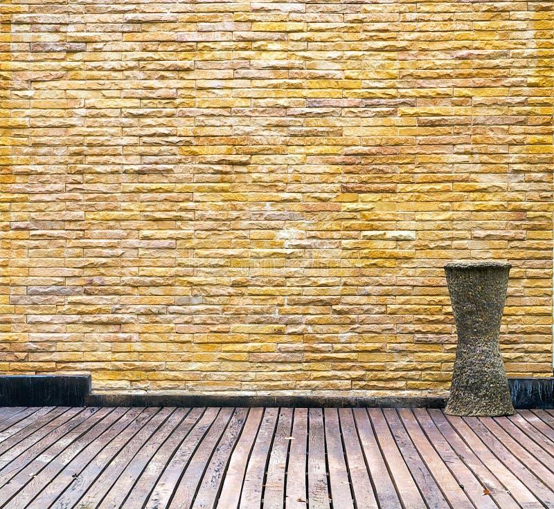 砖老空间墙壁 库存照片