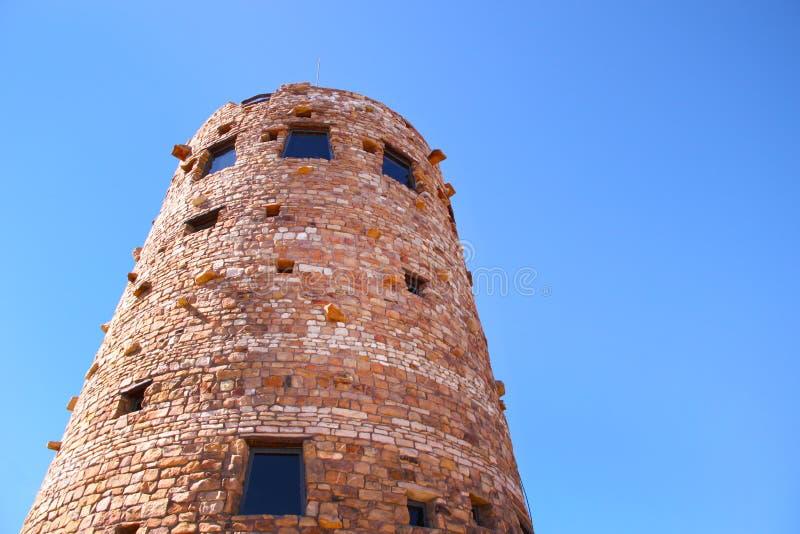 砖观测塔 库存照片