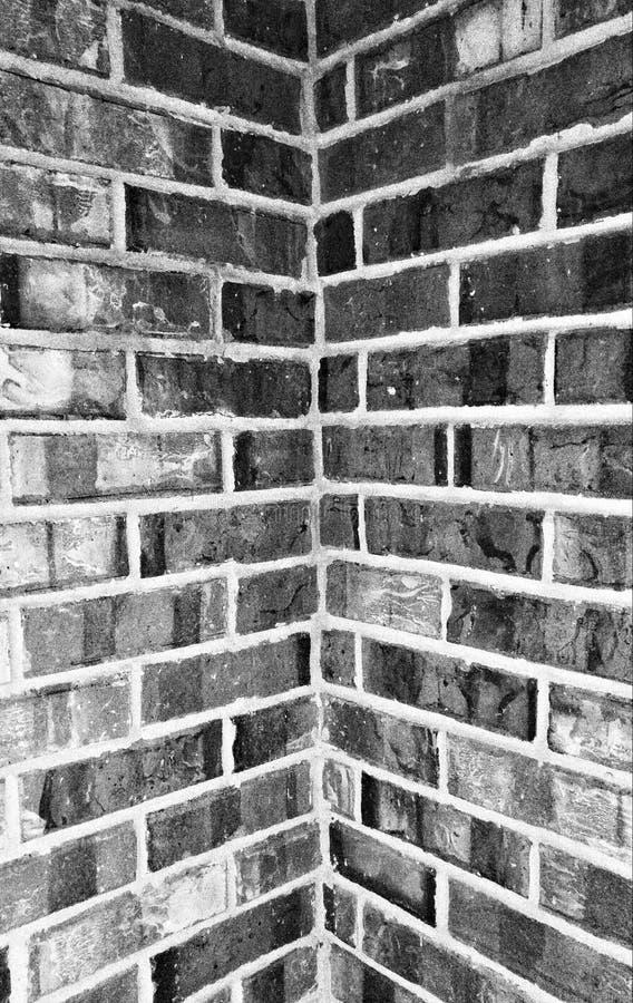 砖角落 免版税图库摄影
