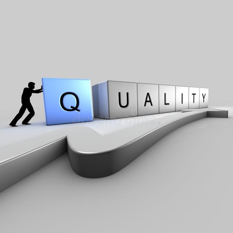 砖质量 向量例证
