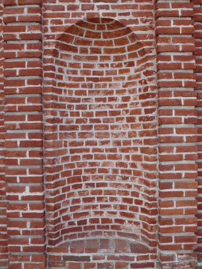 砖适当位置 免版税库存图片