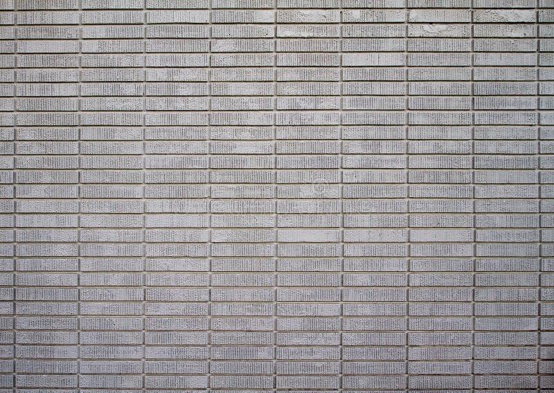 砖遥远的被绘的白色 免版税库存图片
