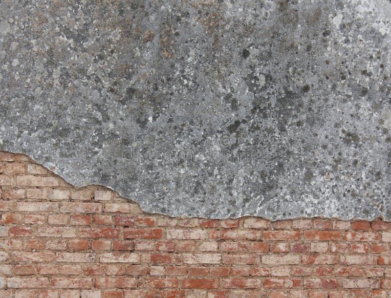 砖门面墙壁 库存图片