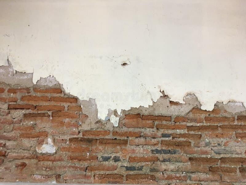 砖难看的东西墙壁 免版税库存图片
