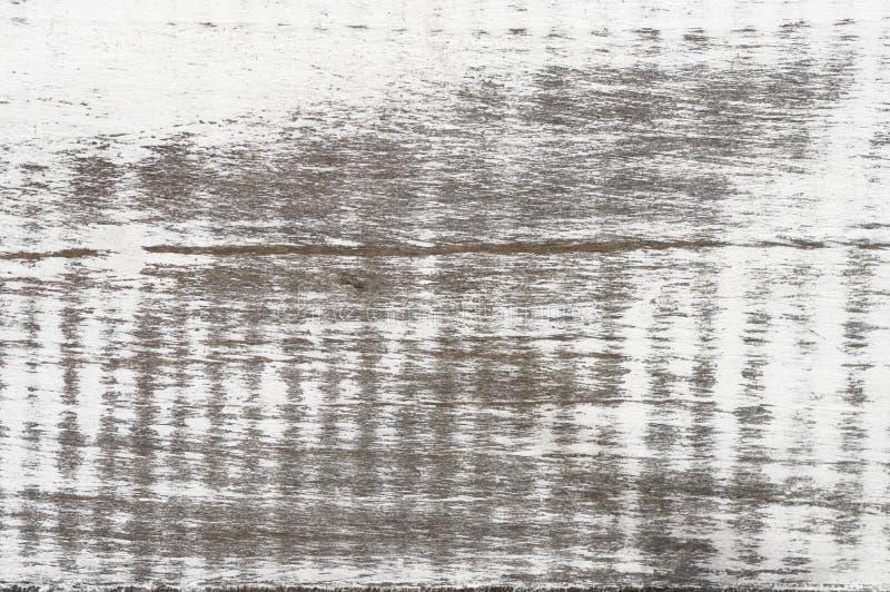 破旧的被粉刷的木纹理 免版税图库摄影