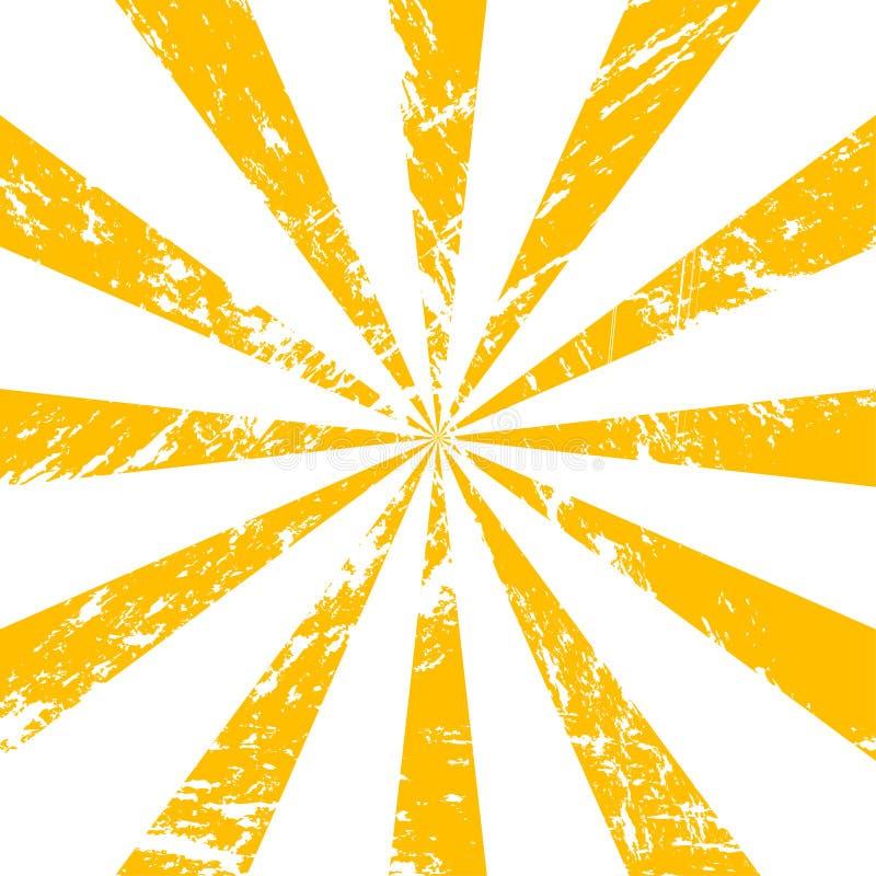破裂的光芒(包括的向量文件) 皇族释放例证