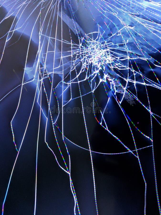 破裂的屏幕1 免版税库存图片