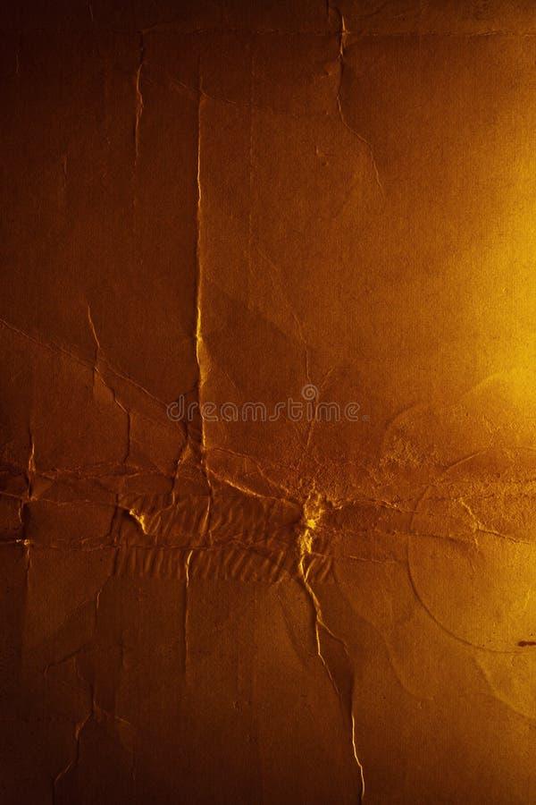 破裂的恶魔般的纸纹理 库存图片