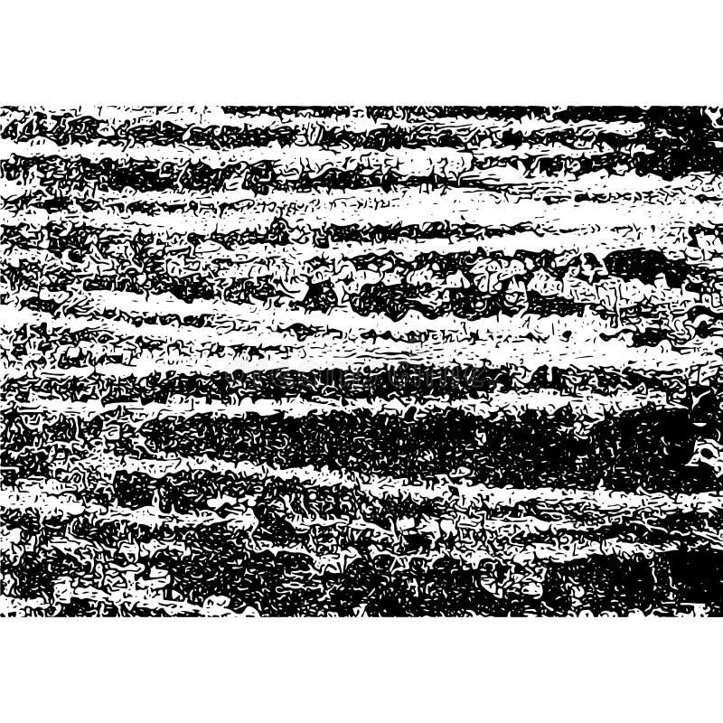 破裂的纹理 镇压和抓痕 向量grunge例证 库存例证