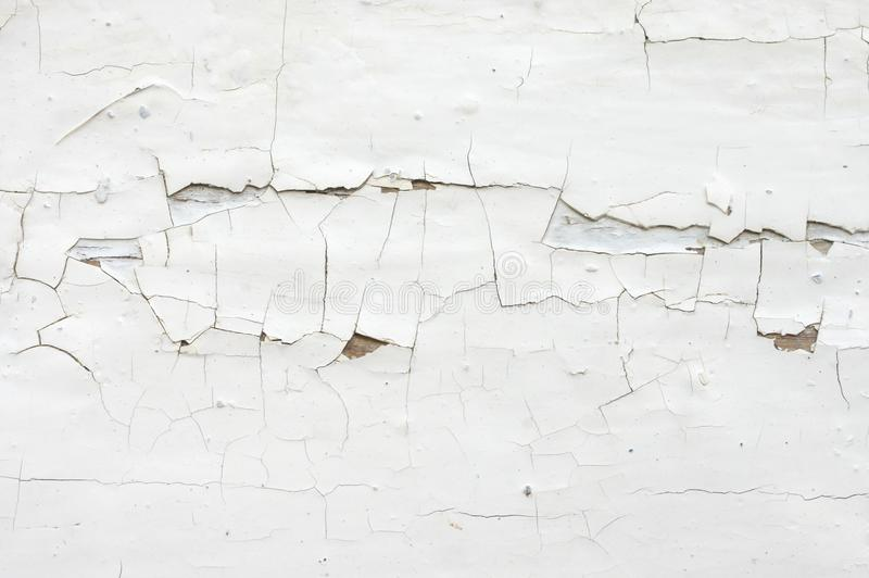 破裂的被绘的木纹理 免版税库存图片