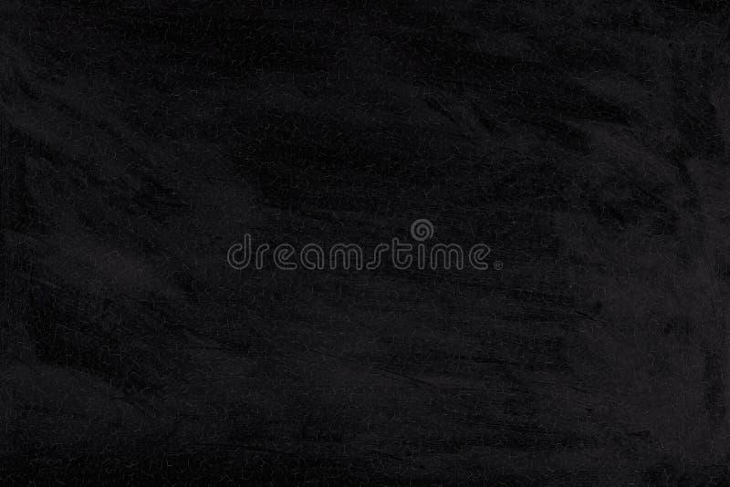 破裂的黑色被洗涤的油漆背景  老纹理墙壁 库存图片