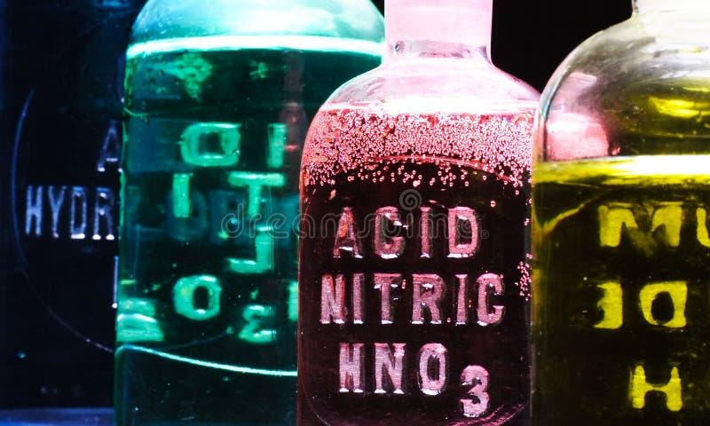 硝酸的酸 免版税图库摄影