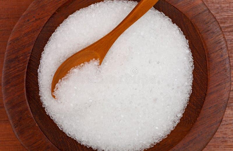硫酸镁 库存图片