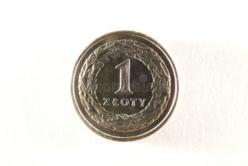 硬币一波兰 免版税库存图片
