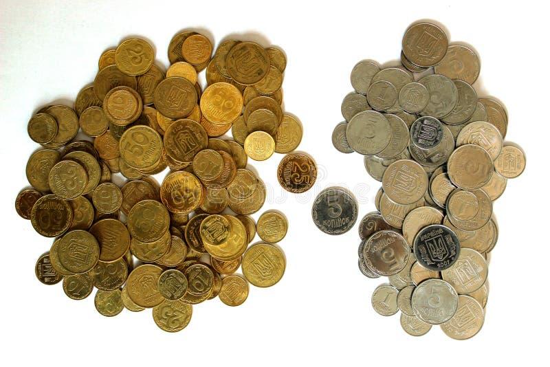 硬币乌克兰 图库摄影
