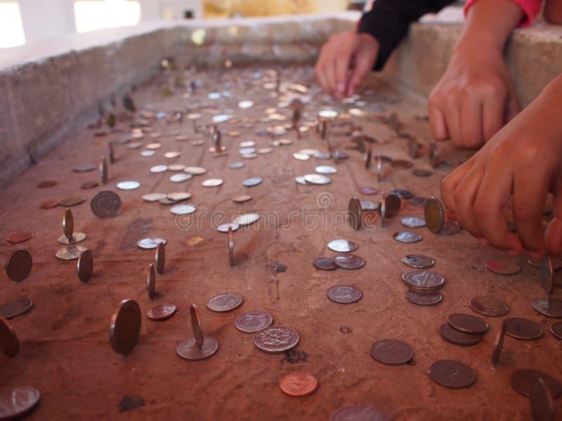 硬币大厦 库存图片