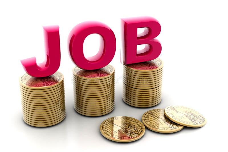 Download 硬币工作 库存例证. 插画 包括有 雇佣, 镀金, 远期, 收入, 经济, 查出, 现金, 美元, 抽象 - 15676542