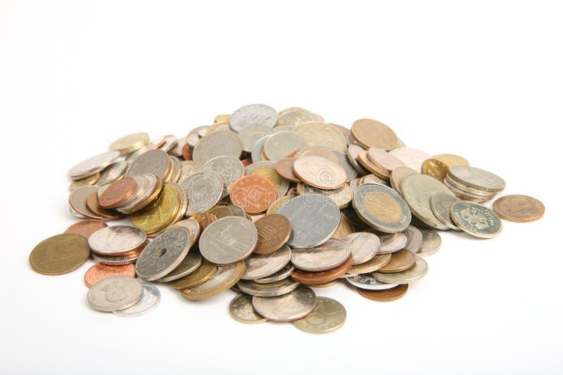 硬币批次 库存图片