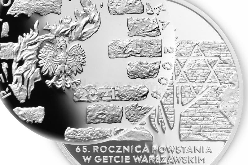 硬币波兰 库存图片