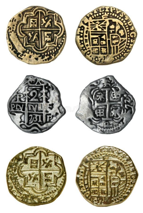 硬币海盗 免版税库存照片
