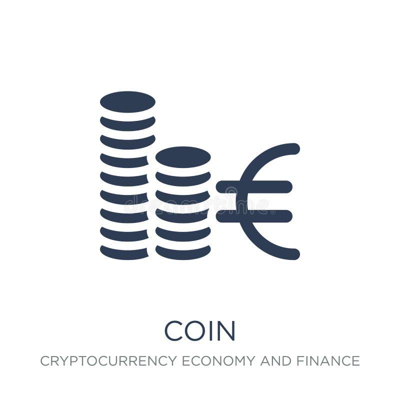 硬币象  向量例证