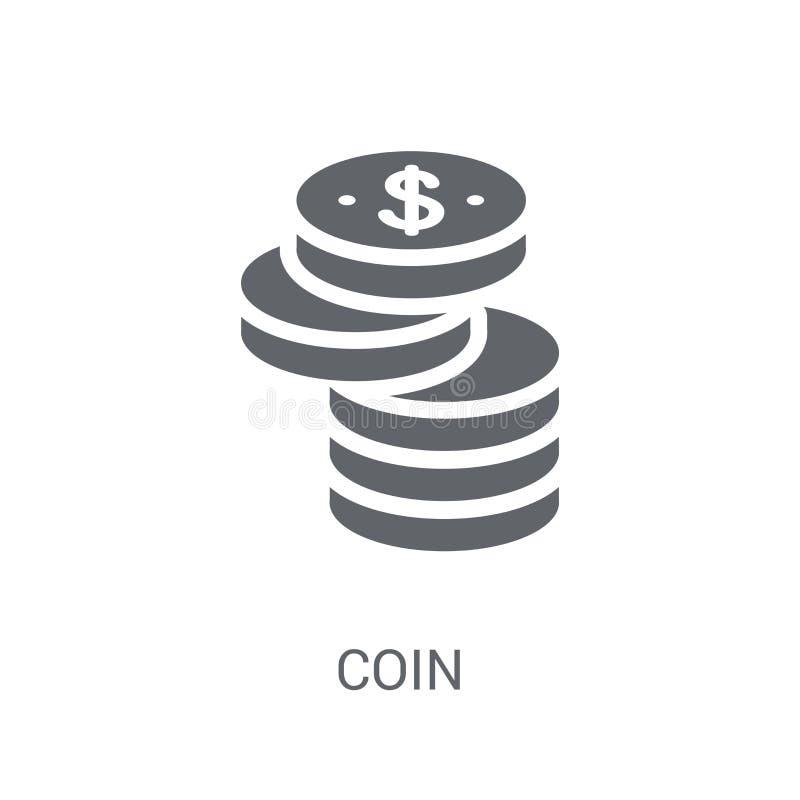 硬币象  皇族释放例证