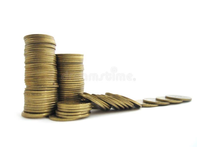 硬币货币 库存图片