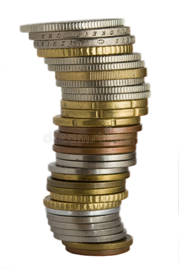 硬币 免版税库存照片