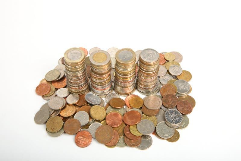 硬币 图库摄影