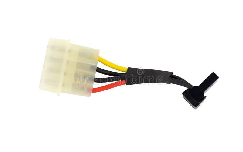硬盘驱动器电缆 库存图片