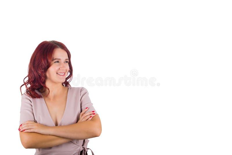 确信的妇女 免版税库存照片