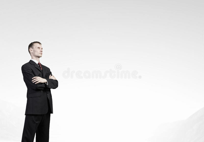 Download 确信的生意人 库存图片. 图片 包括有 成人, 严重, 交叉, 学员, 表面, 高雅, 办公室, 犰狳, 人们 - 59105697