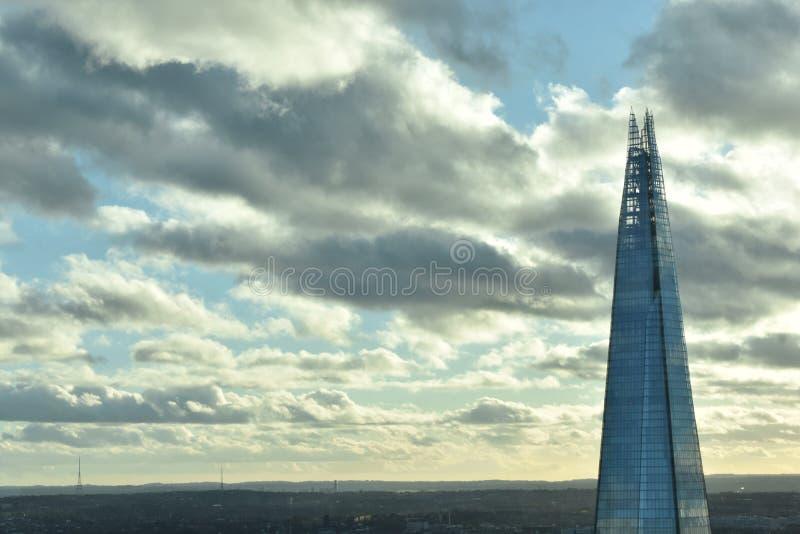 碎片大厦在伦敦 免版税库存照片