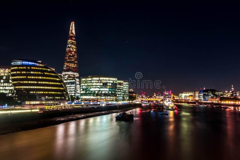 碎片-摩天大楼在Southwark在伦敦 库存照片